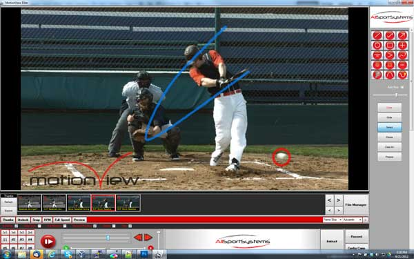 Baseball Bat Swing Or Pitch Video Analysis Software and Systems ...