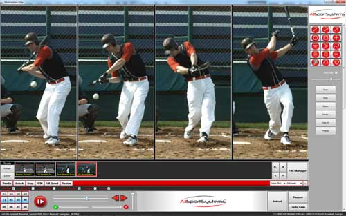 and photo pm mike coaching app sports for tag kick leg video analysis swing mobile feb trout